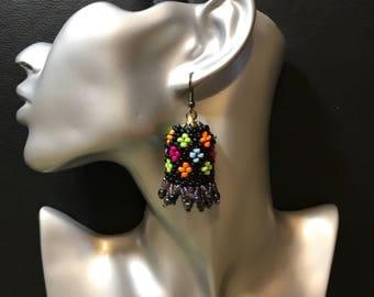 Beads earrings handmade