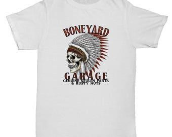 Motorbike Classic Inspired Biker Motorcycle Skull Retro Mens America Tumblr 90s Mens Cafe Racer T Shirt
