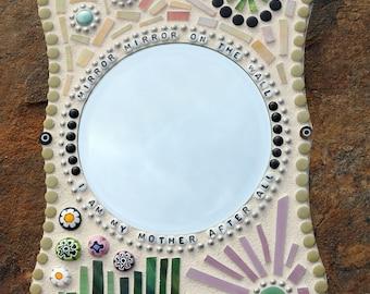 MIRROR, MIRROR Mosaic Plaque