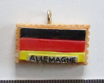 Germany flag charm resin 30mm