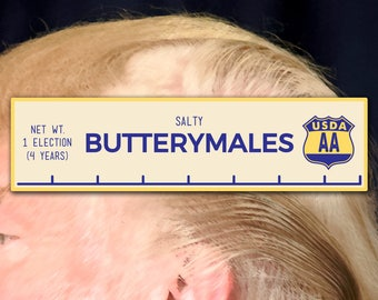 Butterymales Full Color Vinyl Decal