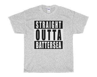 Straight Outta Battersea T-Shirts/Sweaters/Hoodies