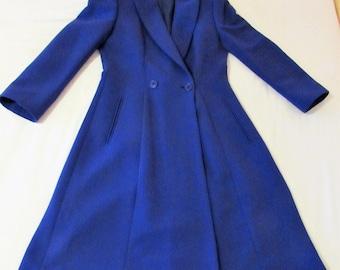 Vintage Giorgio Armani blue coat