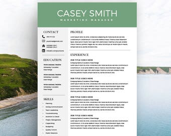 My Perfect Resume Customer Service Number Word Cv Template  Etsy Free Basic Resume Templates Download Word with Resume Printing Paper Resume Template For Word With Cover Letter Instant Download Resume  Page Cv  Template Free Executive Resume Templates