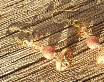 """Golden Earring """"spinning Golden peach"""""""
