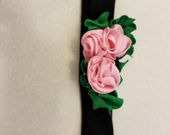 Rose head band
