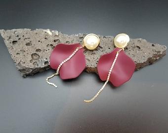 Monika earrings, brigde jewelry