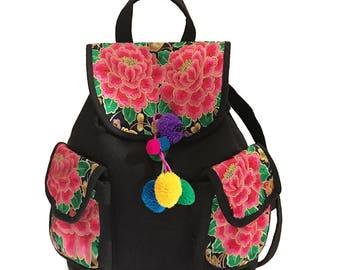 Mochila Bordada/ Embroidered Backpack