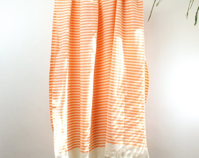 Featured listing image: Organic Cotton/Linen Fouta Turkish Bath Towel Beach