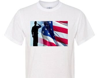 SALUTE Polyester T-Shirt