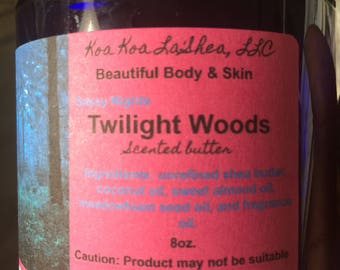 Twilight Woods Scented Butter