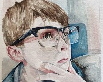 Custom Watercolour Portraits