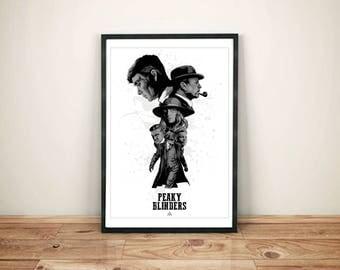 Peaky Blinder Print - Peaky Blinders poster- Peaky Blinders Gift