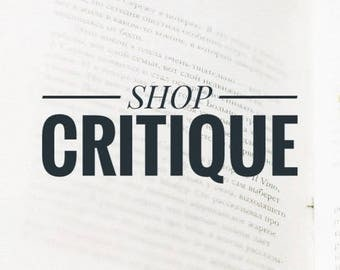 Etsy Shop Review / Shop Critique / Etsy Title and Tags / Etsy SEO tips / Etsy Keyword Research / SEO Help