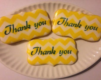 Thank You Sugar Cookies