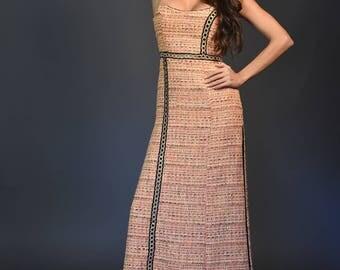 Chanel Fabric long dress