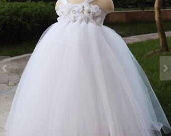 Flower girl, pageant tutu dress