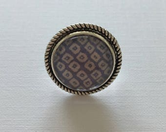 Vintage Handmade Adjustable Ring
