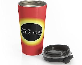 Sun & Moon - Stainless Steel Travel Mug