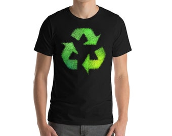 Earth Day Shirt - Recycled shirt - Recycle shirt - Recycled clothing -  Green Environment Science - Mother Earth Shirt - Environmental Shirt