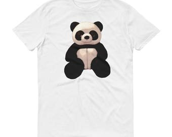 Super Cute Panda Short-Sleeve T-Shirt