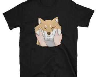 Chubby Cheeks Shiba Inu Shirt, Funny Shiba Inu Dog Gift