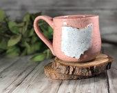 Ohio Mug | Columbus Ohio | Cleveland Ohio | Handmade Mug | Farmhouse Mug | Mothers Day | Coffee Mug | Girly Mug | Ceramic Mug | Ohio State