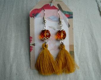 Earrings tassels 1