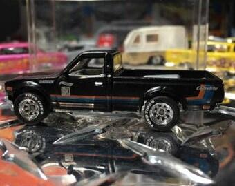 Custom Hot Wheels Hot Datsun 620 Rubber Tires