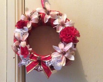 Artificial flower Christmas  wreath