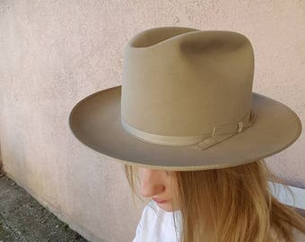 Vintage Stetson Open Road with box size 7