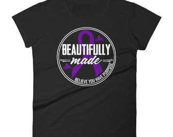 Women's Anvil Beautifully Made / Domestic Violence Awareness / You Are Beautiful