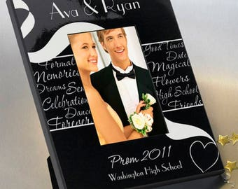 Personalized Prom Frame - Prom Photo Frames - Prom Picture Frames - Personalized Gifts - Personalized Prom Picture Frames - Prom Gifts