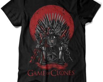 035-T-shirt Star Wars-Game of Thrones-game of clones