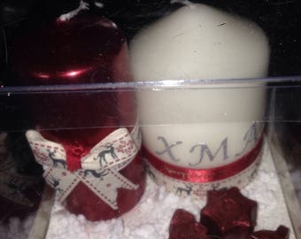 Christmas gift Set Candles