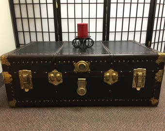 Early 1900's Steamer Trunk
