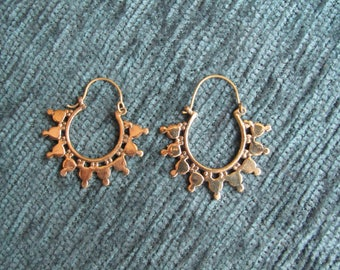 Indian little earring creole gold