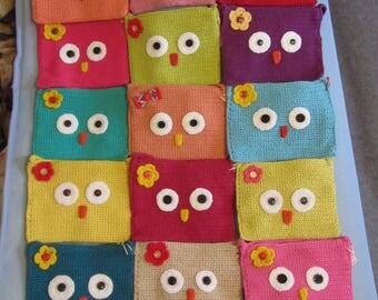 Knitted handbags, children bags
