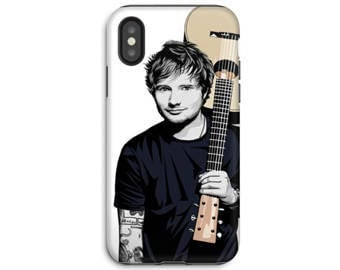 iPhone X Phone Case - iPhone 8 Case - iPhone Case - Samsung Galaxy - Galaxy S8 case - Ed Sheeran Tough Phone Case