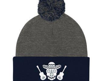 Cultural Legacy Logo Knit Cap (Dark Grey/Navy)