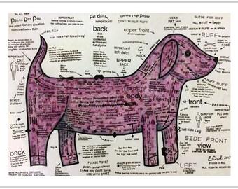 Polka Dot Pup print - Bonnie Coad
