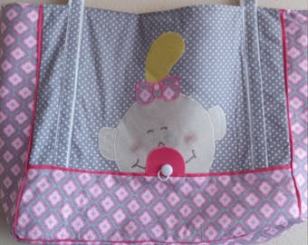 Girl baby diaper bag