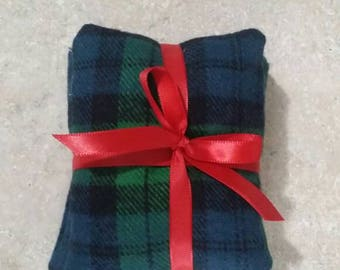 Pocket Hand warmers for men women kids adults. Birthday present holiday christmas gift stocking stuffer red green blue black plaid pattern