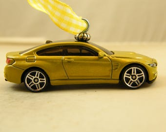 BMW M4 - FREE SHIPPING - Anytime Ornament - Beamer Beemer - sports car - luxury - Fathers Day - Dad - Birthday - Gift - classic