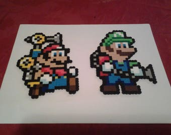 Mario Perler Beads - Mario Bros.