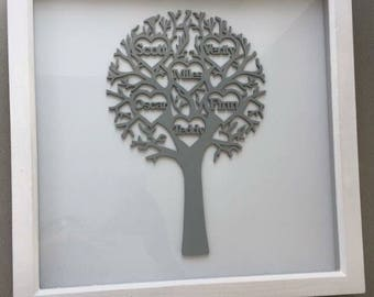 Personalised family tree.