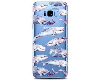 whale case Whales phone cases whale painting print Pixel 2 case cute Whale watercolor case Samsung s7 pattern phone case cute s8 phone case