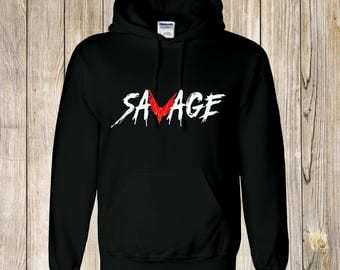 unisex kids SAVAGE hoody, jake logan paul INSPIRED , youtube hoodie