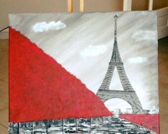 """Canvas """"Paris"""""""