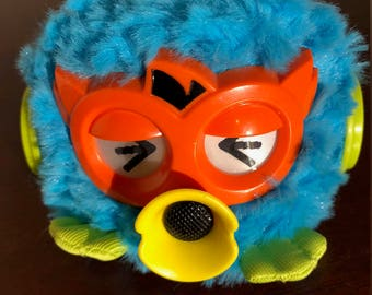 2012  Light blue Party Rockers Furby